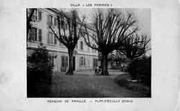 PLAT D' ECULLY   -  Villa Les Prairies - Pension De Famille - France