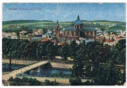 CPA : NAMUR Panorama De La Ville , Vers Saint Aubain, Pont De L'évêché, Pris De La Citadelle - Namur