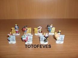 SERIE COMPLETE 1 FEVE & 1 GAGE DE 8 FEVES N° 367 - Autres