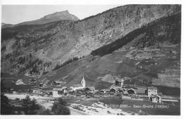 SAAS - GRUND → Schöne Dorfansicht, Fotokarte Ca.1940 - VS Wallis