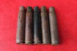 5 ETUIS MAUSER INERTES - 1914/1918 - WW1 - 1914-18