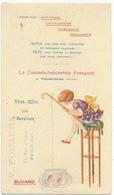 BUVARD -  La Chromolithographie Française, TOURCOING - Stationeries (flat Articles)