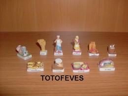 SERIE COMPLETE LA FABRICATION DU PAIN DE 10 FEVES N°372 - Other