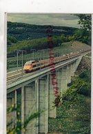 71 - EPINAC - TGV PARIS UD EST - MARS 1981- COUPLAGE DE 2 RAMES TGV SUR LE VIADUC DE LA DIGOINE - Autres Communes