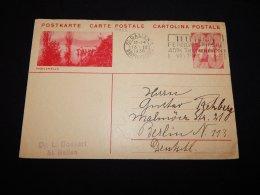 Switzerland 1936 St.Gallen Stationery Card To Germany__(L-19832) - Ganzsachen