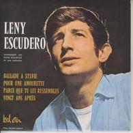 LENY ESCUDERO - CD 4 TITRES - PORT COMPRIS POUR LA FRANCE - BALLADE A SYLVIE - Scan Recto Et Scan Verso - Collector's Editions