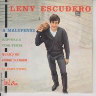 LENY ESCUDERO - CD 4 TITRES - PORT COMPRIS POUR LA FRANCE - A MALYPENSE - Scan Recto Et Scan Verso - DEDICACE AU VERSO - Collector's Editions