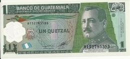 GUATEMALA 1 QUETZAL 2012 UNC P 115 B - Guatemala