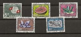 Schweiz, 1959 Pro Patria Satz, ET Vollstempel, Bundesfeiermarken Bern, Siehe Scans! - Switzerland