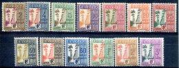 Guadeloupe        Taxes  25/37  ** - Guadeloupe (1884-1947)