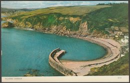 Polkerris Harbour, Cornwall, C.1960s - Jarrold Postcard - England