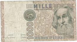 Italia - Italy 1.000 Lire 1982 Pick 109a Ref 1909 - [ 2] 1946-… : República