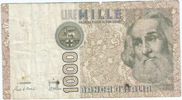Italia - Italy 1.000 Lire 1982 Pick 109a Ref 1910 - [ 2] 1946-… : República