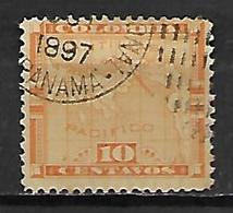PANAMA   -   1892.  Y&T N°  14 Oblitéré - Panama