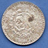 Mexique  -  1 Peso 1958  -  Km # 459  -  état  TTB - Mexique