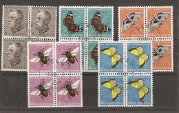 Schweiz, 1950 Pro Juventute ET Viererblock, Bern Ausgabetag, Siehe Scans! - Switzerland