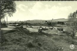 08 Ardennes SEDAN La Meuse Ses Chantiers Et Son Port Fluvial  Carte Glacée - Sedan
