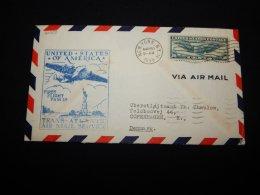 USA 1939 First Flight Fam 18 Cover__(L-20353) - Vereinigte Staaten