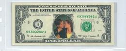 USA Billet 1 Dollar Commémoratif Personnages Célèbres / Titanic:Léonardo Di Caprio,Kate Winslet, 2009 - Federal Reserve (1928-...)