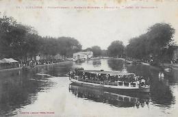 """31)  TOULOUSE  - Ponts Jumeaux - Bateau Mouche - Départ Du """"  Cadet De Gascogne  """" - Toulouse"""