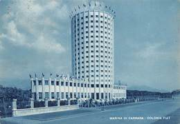 """08367 """"MARINA DI CARRARA - COLONIA FIAT"""" ARCH. '900.   CART SPED 1953 - Carrara"""