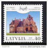 LATVIA 2002  Jaunmokas Castle MNH / **.  Michel 577 - Latvia