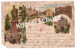 Gruss Aus Stettin  1903   (z5557) - Pommern