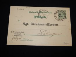 Wurttemberg 1896 Schömberg 5pf Green Stationery Card__(L-20523) - Wurttemberg