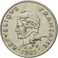 Monnaie, French Polynesia, 10 Francs, 1985, Paris, TTB+, Nickel, KM:8 - French Polynesia
