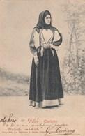 NUORO-COSTUME TRADIZIONALE SARDO-CARTOLINA VIAGGIATA IL 10-8-1903 - Nuoro