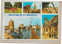DEPT 17 - Souvenir De LA ROCHELLE - MULTI-VUES  - 5 Vues De La Ville - SAL** - - La Rochelle