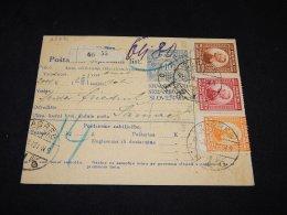 Yugoslavia 1921 Zagreb Parcel Card__(L-23871) - 1919-1929 Koninkrijk Der Serviërs, Kroaten En Slovenen