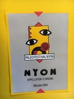 8794 - Paléo Festival Nyon 1991  Suisse - Musique