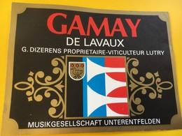 8796 - Musikgeselschaft Unterenfelden  Suisse Gamay  & Dorin 2 étiquettes - Musique