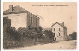 44 - SAINT LYPHARD - La Mairie Et L'Ecole Communale. - Saint-Lyphard