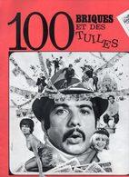 Dossier De Presse Cinéma. 100 Briques Et Des Tuiles, Film De Pierre Grimblat. Michel Serrault, Albert Rémy, D.Ceccaldi - Cinema Advertisement