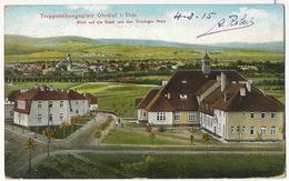 Ohrdruf French Prisoner 1915 Cachets . Prisonnier Français Vers Verneuil L' Etang - Allemagne