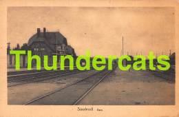 CPA SOURBRODT GARE TRAIN - Waimes - Weismes