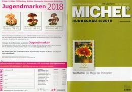 MICHEL Briefmarken Rundschau 8/2018 Neu 6€ Stamps Of The World Catalogue/magacine Of Germany ISBN 978-3-95402-600-5 - Deutsch (ab 1941)
