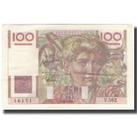 France, 100 Francs, 100 F 1945-1954 ''Jeune Paysan'', 1950-08-24, SPL - 1871-1952 Anciens Francs Circulés Au XXème