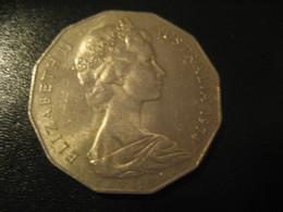 50 Cents 1974 QEII AUSTRALIA Coin - Monnaie Décimale (1966-...)