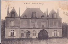 CPA -  SAINCAIZE Château De Trémigny - France