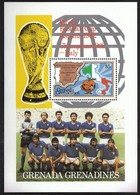 Grenada Grenadines / Football, Soccer / World Cup Spain 1982 / Michel Bl 69 / Winner Italy - Fußball-Weltmeisterschaft