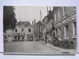 72 - NOGENT LE BERNARD - PLACE DE L'EGLISE - ANIMEE - HOTEL ST JACQUES - HOTEL DU MIDI - ETAT NEUF - Autres Communes