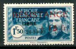 A.E.F. YVERT 168* PAUL CRAMPEL NEUF AVEC CHARNIERE - Neufs