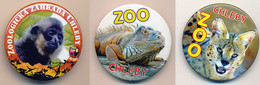 Button ZOO Chelby, Czech Rep. - Gibbon - Badges
