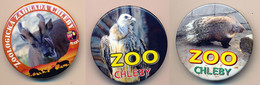 Button ZOO Chelby, Czech Rep. - Muntjac - Badges