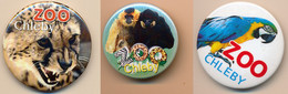 Button ZOO Chelby, Czech Rep. - Macaw - Badges