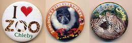 Button ZOO Chelby, Czech Rep. - Ocelot - Badges