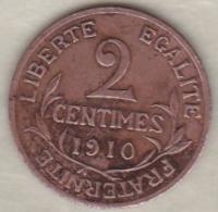 2 Centimes Dupuis 1910 - France